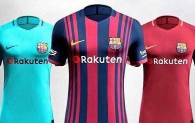 Barcelona: así serán las camisetas del FC Barcelona 2017-18
