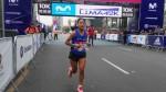 Maratón Lima 42K: Inés Melchor se impuso en la prueba de los 10k - Noticias de huancavelica