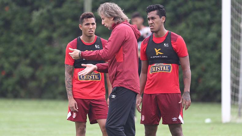 Ricardo Gareca entrenó con Gallese, Peña, Polo y Tapia — Selección peruana