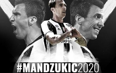 Mario Mandzukic amplió su contrato con la Juventus hasta el 2020