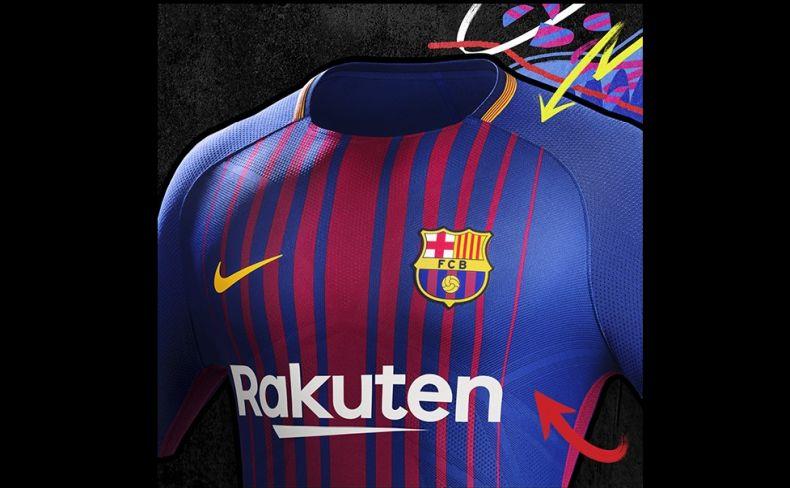 Nike presenta la nueva camiseta del Barça
