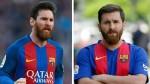 Iraní ya le saca provecho a su parecido con Lionel Messi - Noticias de lionel messi