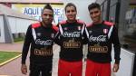 Gómez, Succar y Manzaneda se sumaron a los trabajos de la Selección - Noticias de pedro tapia