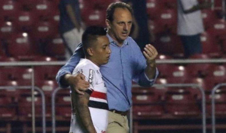 Christian Cueva: Sao Paulo vs. Ponte Preta por el Brasileirao