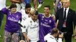 Real Madrid ganó la Champions League y así festejó Cristiano Ronaldo - Noticias de mario mandzukic