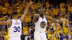 NBA: Warriors aplastaron a Cleveland con Durant y Curry y ponen 2-0 en la final - Noticias de lebron james