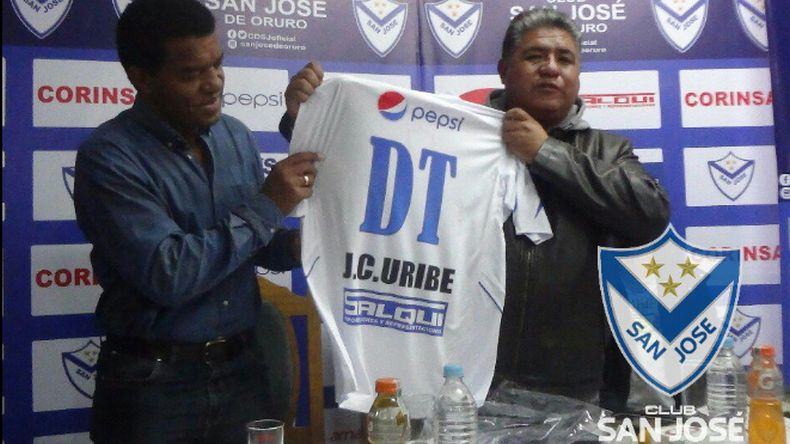 """Julio César Uribe puso la valla alta en San José de Oruro"""""""