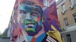 Cristiano Ronaldo: Kazán le dedica un grafiti gigante - Noticias de grafiti