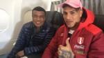 Teófilo Cubillas coincidió con Paolo Guerrero en vuelo hacia Lima - Noticias de teofilo cubillas