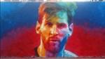 Leo Messi protagoniza un grafiti gigante en el Paralelo de Barcelona - Noticias de grafiti