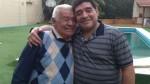 Diego Maradona y el emotivo mensaje por el Día del Padre - Noticias de don nico