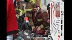 Paco Bazán se vistió de bombero y ayudó a apagar incendio en Las Malvinas - Noticias de paco bazán
