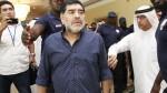 """Maradona: """"La invitación a la boda de Messi se perdió por alguna parte"""" - Noticias de fidel supo"""