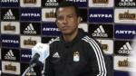 Sporting Cristal: Garcés destacó la confianza que ha dado Zegarra al plantel - Noticias de chemo del solar