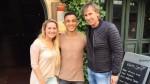 Selección peruana: Ricardo Gareca visitó a Yoshimar Yotún en Suecia - Noticias de socrates porta solano