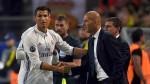 Real Madrid: Zidane descartó la salida de Cristiano Ronaldo - Noticias de madrid vs barcelona