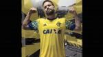 Paolo Guerrero mostró la nueva camiseta alternativa del Flamengo - Noticias de brasileirao