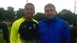 Selección peruana: Néstor Bonillo se juntó con Sergio Peña en Holanda - Noticias de sergio pena