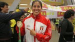 Alexandra Grande: así fue recibida tras ganar oro en World Games de Polonia - Noticias de alexandra grande