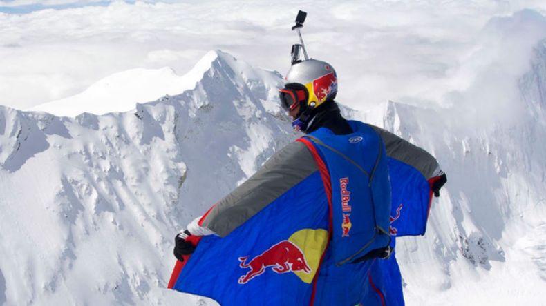 Ruso saltó desde el nevado Huascarán — Impresionante