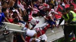 Trece heridos en estadio de Barranquilla al ceder baranda de una tribuna - Noticias de roberto rojas