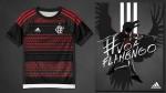 Paolo Guerrero: hincha diseña camiseta de Flamengo en homenaje al peruano - Noticias de flamengo vs santos