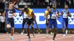 Usain Bolt: las tristes imágenes de su lesión y retiro del atletismo - Noticias de justin gatlin