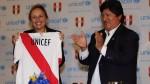 Perú difundirá valores de Unicef entre más de 200 mil futbolistas menores - Noticias de vals im bashir