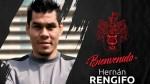 Hernán Rengifo fue presentado como el nuevo delantero de Melgar - Noticias de carlos rengifo