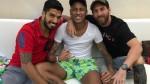 Messi y Luis Suárez se juntaron con Neymar y vacilaron a Gerard Piqué - Noticias de gerard pique