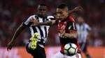 Paolo Guerrero fue elegido el mejor jugador del Flamengo-Botafogo - Noticias de botafogo