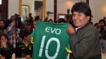 Perú vs. Bolivia: Evo Morales tiene previsto ver el partido en el Monumental - Noticias de agencia morales