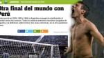 """Prensa argentina aseguró que será """"otra final del mundo contra Perú"""" - Noticias de selección venezuela"""