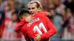 Atlético Madrid inauguró su nuevo estadio con una victoria 1-0 sobre Málaga - Noticias de diego reyes