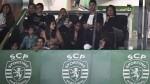 Cristiano Ronaldo viajó a Lisboa y disfrutó de la victoria del Sporting - Noticias de victoria lee