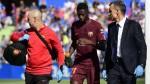 Dembélé sufre una lesión en los isquiotibiales y estaría tres semanas fuera - Noticias de ousmane dembélé