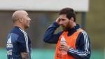 Perú vs. Argentina: Messi se reunió con Sampaoli en Barcelona - Noticias de leo messi