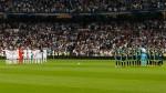 Real Madrid y Betis guardaron un minuto de silencio por víctimas de México - Noticias de santiago bernab