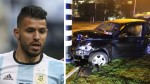 Sergio Agüero contó cómo se produjo su accidente en Holanda - Noticias de sergio del castillo
