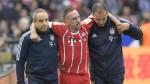 Ribery sufrió una rotura del ligamento exterior de la rodilla izquierda - Noticias de franck ribery