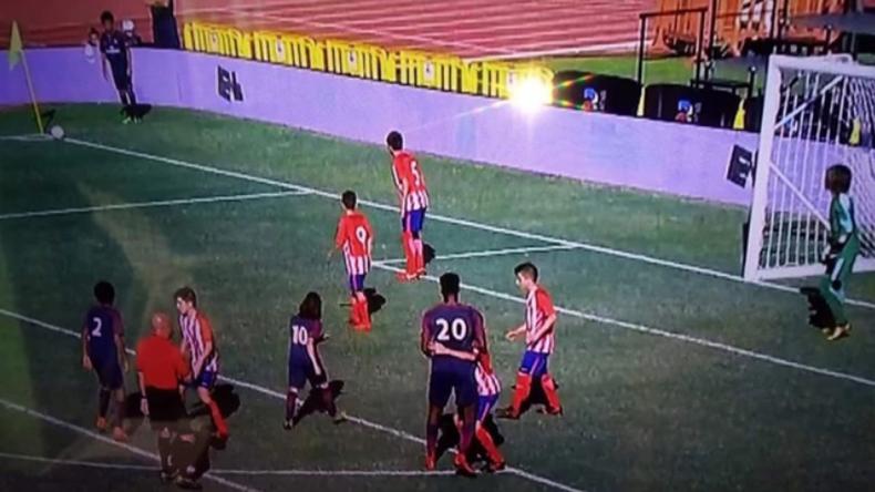 Juvenil de PSG sorprendió en un torneo de menores por su altura